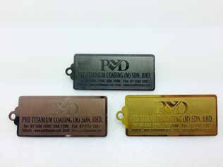 PVD Titanium Coating